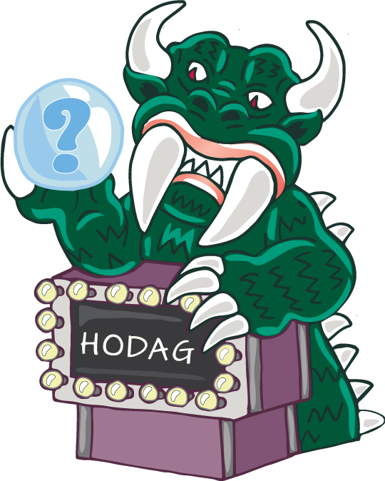 The all knowing Hodag